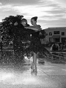 Tango by the Fountain 07/29/2011