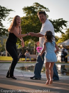 Salsa By the Fountain 2011
